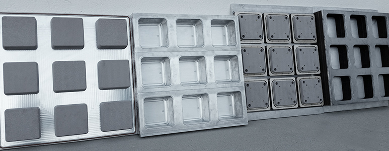 thermoformed tooling, product mold photo