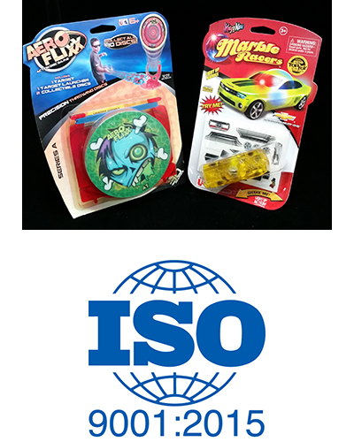 thermoformed blister packaging, iso certification logo